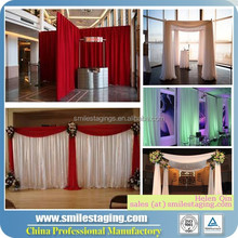 Wholesale pipe and drape, wedding backdrop curtains flower backdrop