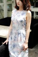 Factory direct beautiful fashion designer Girls Cotton Dress Materials