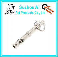 Silver Ultrasonic Dog Whistle