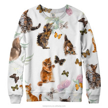 heavy sweatshirt 100% cotton 100% cotton high quality small order