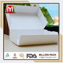 Take away clamshell biodegradable sushi box, food sushi packaging boxes