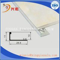 Direct Selling Angle skirting tile aluminum quarter round