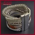 bijoux de mode de conception de style français 2015 memorial bracelet fermoir magnétique