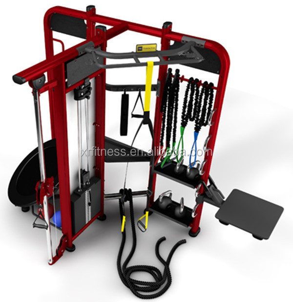4-multi station multi gym equipment Crossfit Rig Synrgy360
