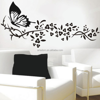 2016 New Quote Butterfly Wall Deco Sticker