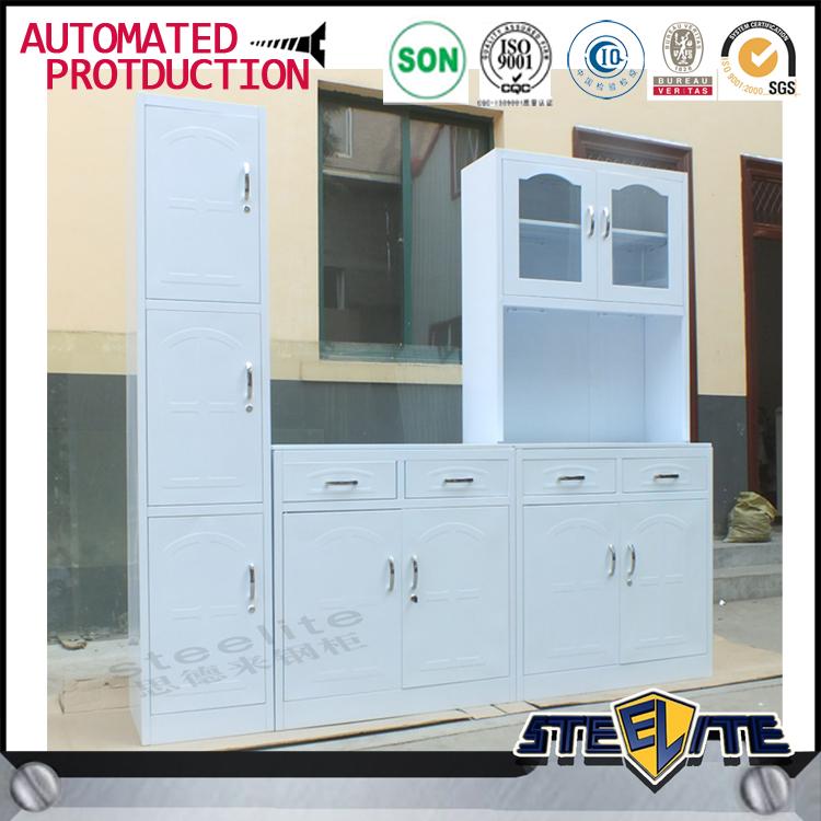 Home Used White Metal Kitchen Cabinets/ Kitchen Design