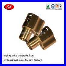customized precision cnc machining service center ,brass sleeve Bushing Compensator Brake part