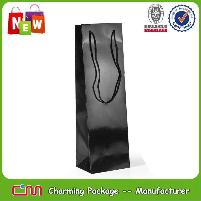 Custom paper wine bag,wine bottle bag