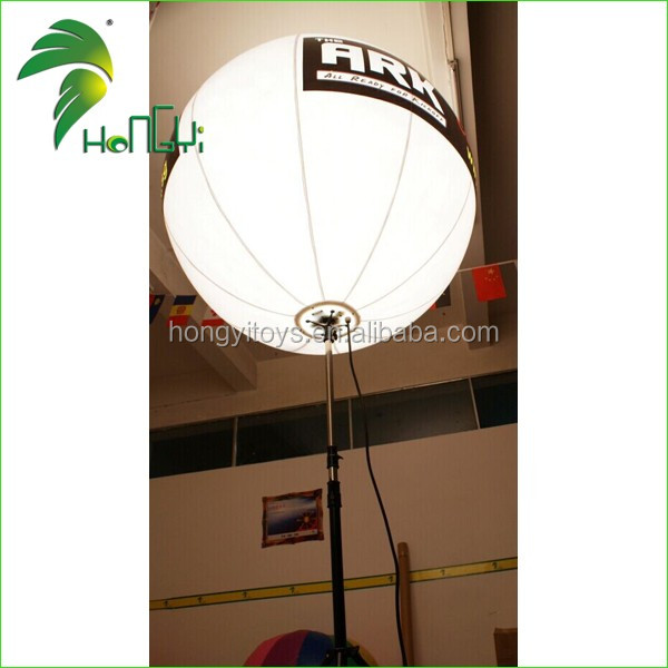 Inflatable standing lamp with Advertising balloon (4)