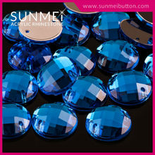Taiwan Manufacturer Sun Mei Fashion Acrylic Sew On Diamant For Bag Embellishment