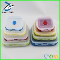 Silicone keep food warm insulated food container