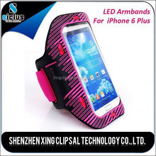 Outdoor Sport Activity Nightlight Captain LED Armbands for Iphone 6
