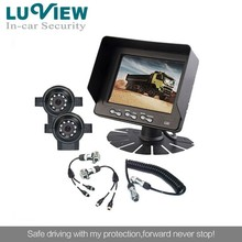 Bus entertainment 5 inch car security camera system