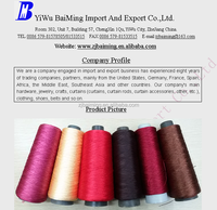 Polyester plied yarn threads carpet polyester thread