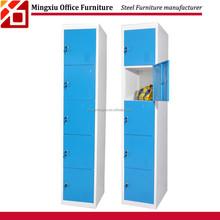 Multi door Slim Wardrobe cupboard used cheap gym metal lockers