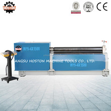 Hoston manufacture low cost W11 sheet metal plate bending machine ,small plate rolling machine