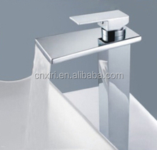 2015 Unique Design Waterfall Faucets Factory Price Basin Tall Bar Faucet XR516A