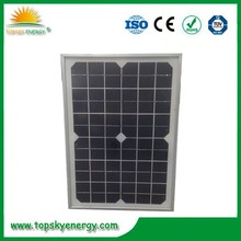 High quality 25W low price mini solar panel from China
