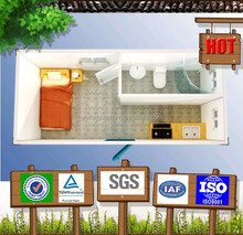 2015 Hot Promotion! New Technology SGS Test High Quality prefab kit house room
