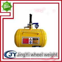 motorcycle tire inflator/air tank for fit and repair tyres