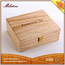 2015 New Fashion Hot Sales Eco Friendly Hand Craft Gifts Key Decorative Small Unfinished Wooden Boxes Wholesale Made In China