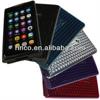 Diamond Pattern Soft TPU GEL Silicone Case Cover for Nokia N9