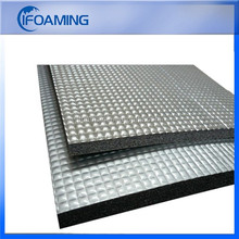aluminum heat barrier foil with foam / thermal insulation material