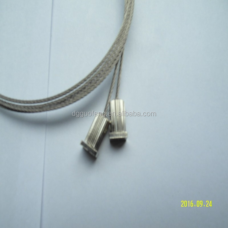 Adjuster Metal Wire Ceiling Light System / Hanging Rope For Led ...