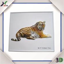Animals for kids education PVC 3d poster,custom plastic poster