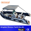 2015 best-selling pvc or hypalon material RIB boat with CE
