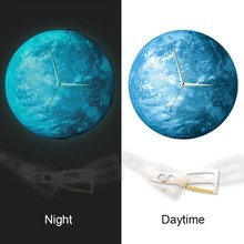SIZE 30*30CM Round ball office metal art wall clock wcBD1432