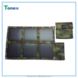 15w foldable monocrystalline solar charger can charger mobile phone / digital camera / MP3 / MP4 / GPS/Portable Power, etc.