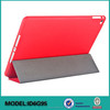 Multi-Folding Folio cover case for iPad air 2 , For iPad leather case