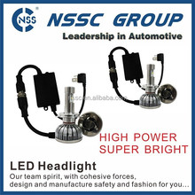 Super bright CREE led headlight bulbs cree motor front lights conversion kit for cars trucks