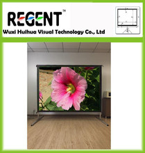 """120"""" 16:9 Fast Fold Screen/ Quick Set Up/ Temporary Events Display/ Outdoor Meeting Display"""