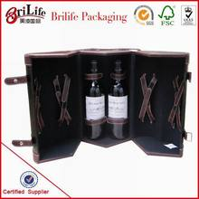 Hot ! Paper gfit box for wine packaging wholesale