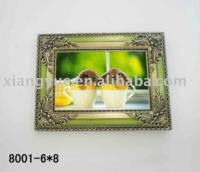 Metal Frame Photo With Ancient Gold