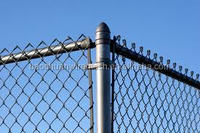 The best quality 9 gauge hot-dip galvanized chain link fence