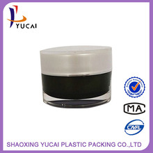New Products China Manufacturer Rotary Cosmetic cosmetic jar wood