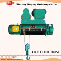 Wholesale Price CD 220v electric hoist with pendent control