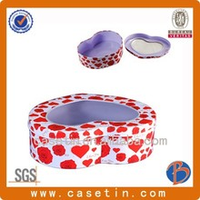 food containers/empty cookie tins/wholesale tin food tins