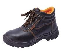EN ISO 20345:2011 genuine leather upper steel toe cap engineering working safety shoes