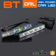 Low Defective Rate High Brightness Factory Supply High Power Auto Led Drl Driving Lights Flexible Daylight