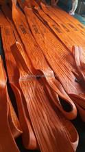 sling belt 50mm, polyester flat woven webbing sling 3t, 50 tons adjustable webbing