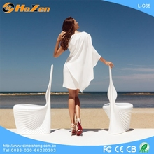 Supply all kinds of cow hide LED chair,yoga meditation LED chair