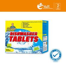 amazing shine dishwasher tablets