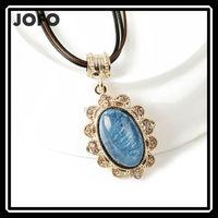 2015 Cheap Simple Design Vintage Resin Pendant Necklace Wholesale