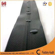 2015 high quality tpu matt finsh nylon waterproof zipper