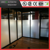 Custom Decorative Frosted Window Film for Office Windows