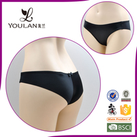 seamless bow black sex OEM service latest design underwear panty girls xxx underwear pic xxx sexy b